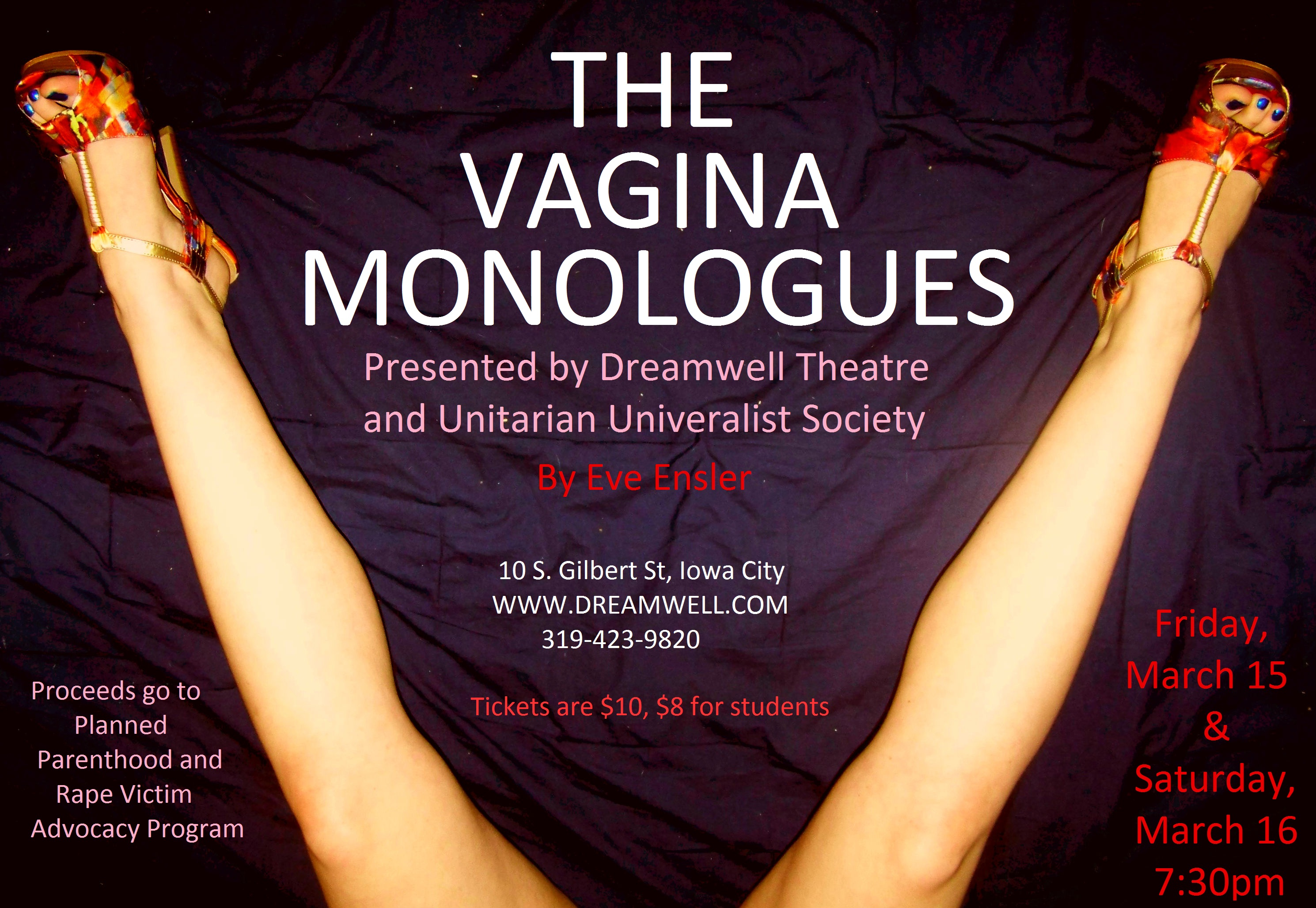 The Vagina Monologues - VDAY   Hebdenbridge.org
